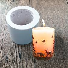 popular christmas candle molds buy cheap christmas candle molds