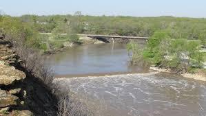 Kansas rivers images Kansas waterfalls JPG