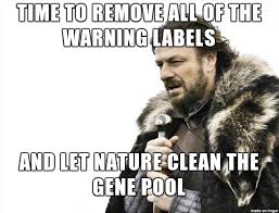 Gene Meme - time to clean the gene pool meme on imgur