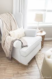 Nursery Room Rocking Chair Weathered And Neutral Nursery Update Our Home Pinterest