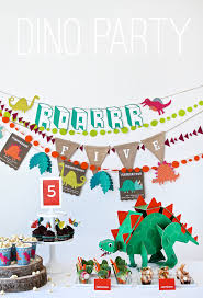 Flags And More Dinosaur Party Honest To Nod
