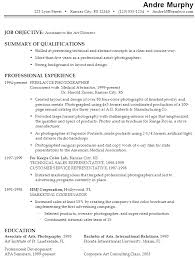 art gallery resume sample 7093