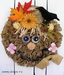 halloween burlap wreath spooky handmade halloween wreath designs for your front door