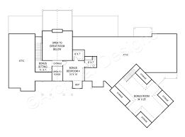 House Plans With Inlaw Quarters Pepperwood Ranch Home Plan Open Home Floor Plan