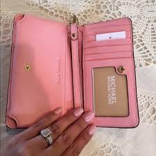 light pink michael kors wristlet michael kors wristlet wallet pink mkdiscount