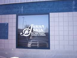 next day signs vinyl banners decals vehicle window digital leased or owned space vinyl window graphics can be a temporary or permanent solution for signage for many commercial clients