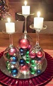 Christmas Table Decoration Ideas Pinterest by Best 25 Wine Glass Centerpieces Ideas On Pinterest Tall Glass