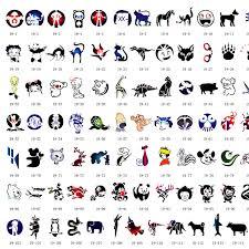 sale 120 designs animals u0026 people airbrush body art tattoo