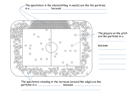 football stadium as particle model year 7 by eranade teaching