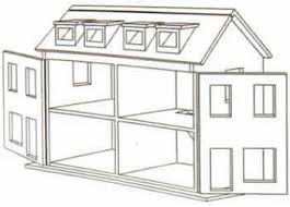 Free Dollhouse Floor Plans | free doll house design plans wooden doll house plan double