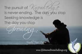 Seeking Ending The Pursuit Of Knowledge Is Never Ending The Day You Stop Seeking