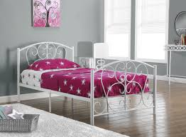 bedroom ideas the easy and astounding white metal bed frames