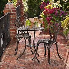 Balcony Bistro Set Patio Furniture 126 Best Bistro Sets Images On Pinterest Bistro Set Chairs And