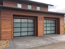 Exterior Garage Door by Shiplap Garage Door U0026 Front Facade Shot Featuring Spotted Gum