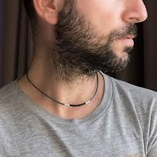 choker necklace man images Men 39 s necklace men 39 s choker necklace men 39 s leather jpg