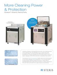 caviwave ultrasonic cleaning family steris pdf catalogue