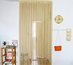 door curtain beads window panel room divider tassel crystal fringe