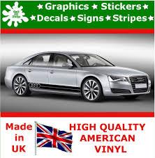 audi decals audi large set kit car stripes decal vinyl sticker graphics racing