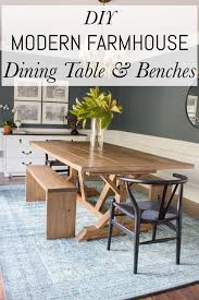 Modern Wood Bench Plans Dining Modern Wooden Bench Plans Modern by Modern Farmhouse Dining Table U0026 Benches Erin Spain