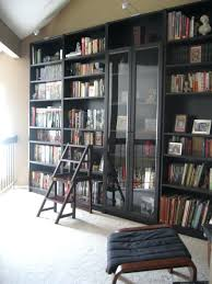 Ikea Besta Bookshelf Bookcase Ikea Billy Bookcase Black Brown Glass Doors Ikea