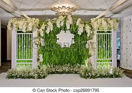 wedding backdrop graphic luxury indoors wedding backdrop decoration stock photographs