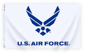 Flag Hoist Signaling Us Air Force Logo 3 X 5 Ft Outdoor Flag