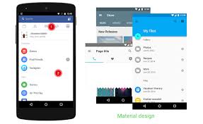 tutorial android menu bar facebook app on android how far is it from official ui guidelines