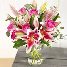 pink lillies pink lilies roses online flower delivery