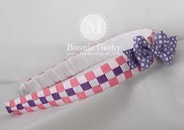 ribbon headbands woven headbands make time to craft