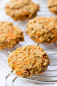 carrot cake quinoa breakfast cookies simply quinoa
