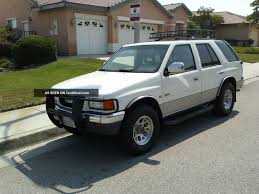 renault rodeo 1995 isuzu rodeo i u2013 pictures information and specs auto