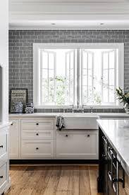 best ideas about gray subway tiles pinterest interiors kitchen greykitchen