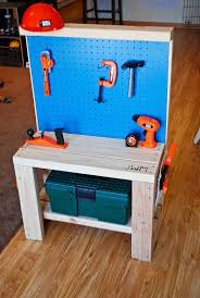 Tool Bench Plans Bench Wooden Childrens Tool Bench Diy Kids Tool Box Building