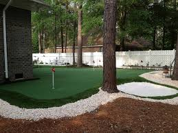 How To Build A Putting Green In My Backyard Backyard Putting Green Installation Backyard And Yard Design For