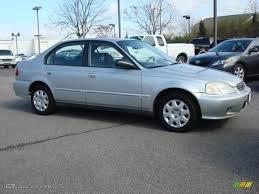 2000 honda civic sedan vogue silver metallic 2000 honda civic vp sedan exterior photo