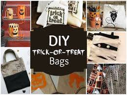 trick or treat bags crafts diy trick or treat bags craftfoxes