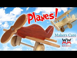 Free Easy Wood Project Plans by Toy Planes Easy Woodworking Project Free Plans Youtube