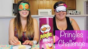 Challenge Reto Pringles Challenge Reto De Las Pringles Con Mi Hermana