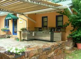 Outside Backyard Ideas Thai Kitchen Design Fabulous Outside Kitchen Ideas 1000 Ideas