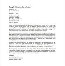 cover letter sample teacher teaching assistant cover letter