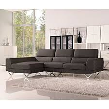 Charcoal Sectional Sofa Shop Dg Casa Charcoal Sectional Sofa At Lowes