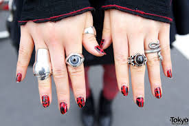 gothic nail polish designs best nail 2017 gothic the adorned claw