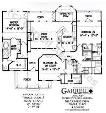 Mountain Cabin Floor Plans Mill Spring Cottage House Plan 11115g 1st Floor Plan Rustic