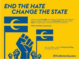 Yellow And White Flag Operation Swedistan U2014 Change That Flag U2013 Wild Smile U2013 Medium