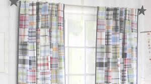 how to install curtains pottery barn kids youtube