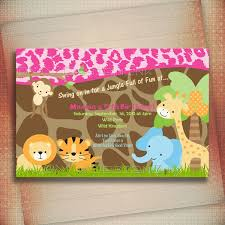 safari birthday invitations dancemomsinfo com