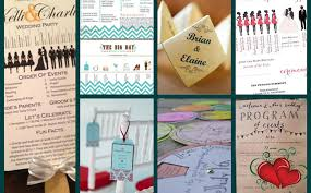 cheap wedding programs unique wedding programs ideas weddingsrusdeco
