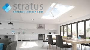 stratus aluminium roof lantern skylight essex kent loondon