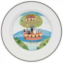design naif dinner plate 2 noah s ark 10 1 2 in villeroy boch