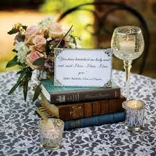 themed centerpieces for weddings 24 simple and book wedding centerpieces weddingomania